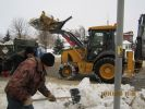 Фотографии с работ по уборке снега